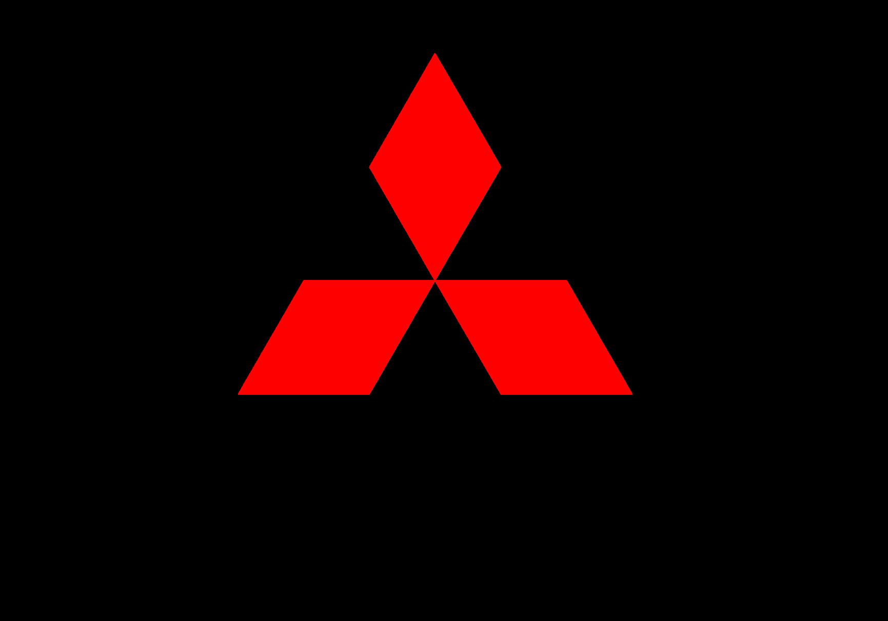 Mitsubishi motors logo. Leira Bil er forhandler av Mitsubishi.